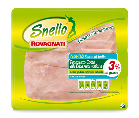 Snello Cooked Ham with Aromatic Herbs