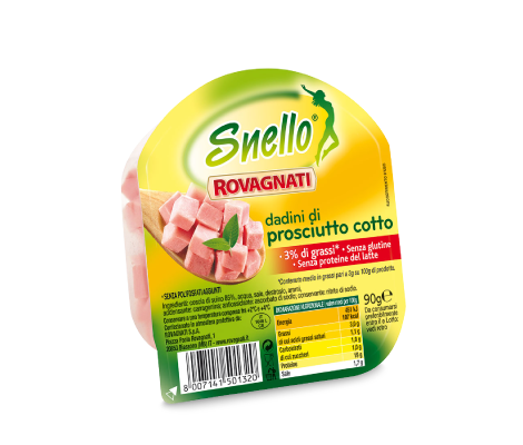 Snello Cooked Ham Cubes