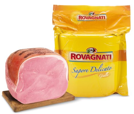 Giallo - Delicate taste - Select cooked ham