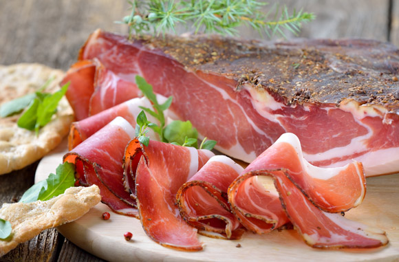 The finest and most renowned specialties of Rovagnati charcuterie.