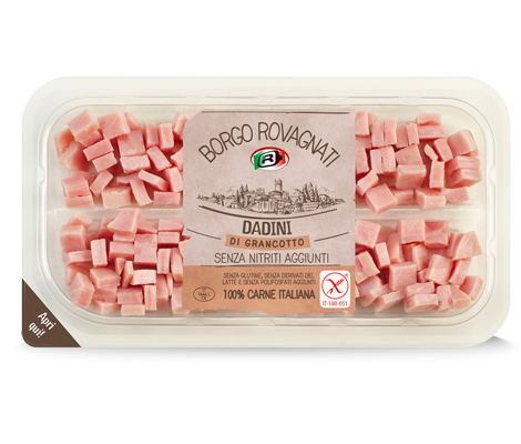 Diced GranCotto Cooked Ham