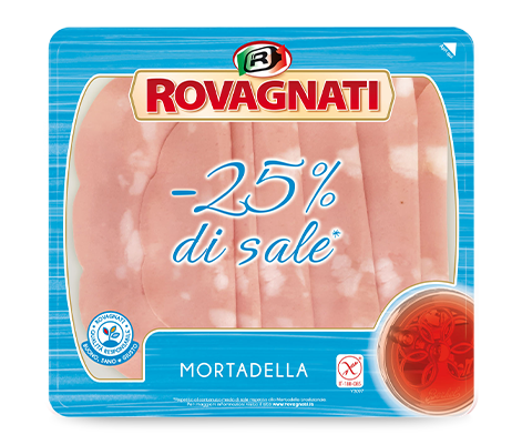 Mortadella -25% di sale