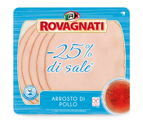 Arrosto di Pollo -25% di sale